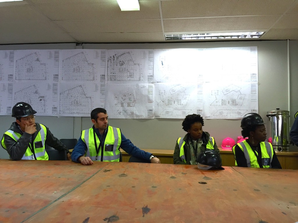 Sasol Site Visit for Job Shadowers and Staff