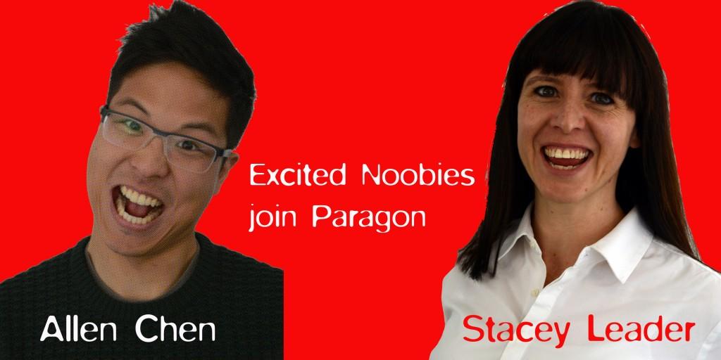 New Staff at Paragon