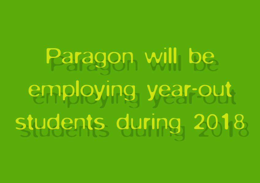 Year out students        -Positions Available