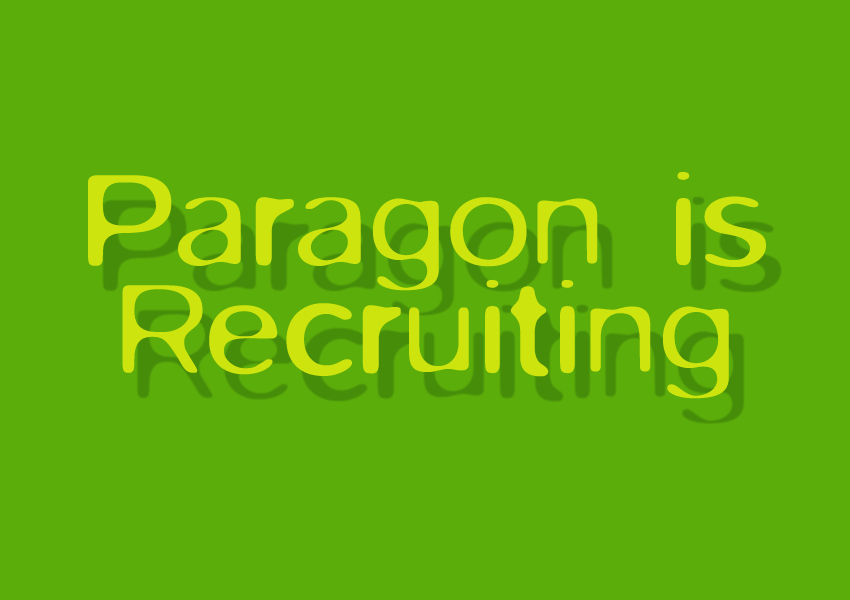 Paragon Architects is Recruiting